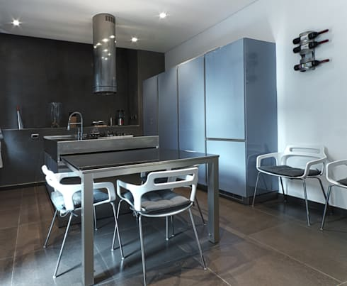 Private Flat APP_G_VA: Sala da pranzo in stile in stile Moderno di Diego Bortolato Architetto