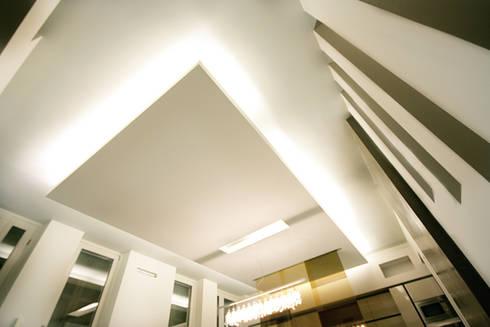 Private Flat APP_G_AL: Soggiorno in stile in stile Moderno di Diego Bortolato Architetto