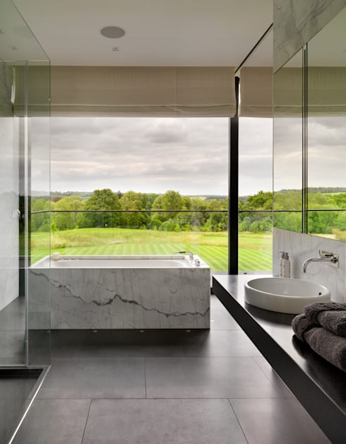 Salle de bains de style  par Gregory Phillips Architects