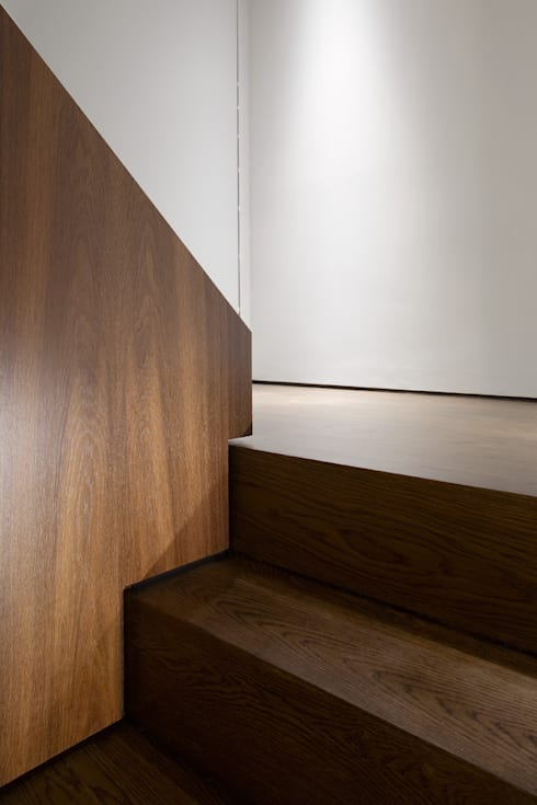 Hyde Park Mews: modern Corridor, hallway & stairs by Gregory Phillips Architects