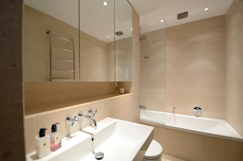 Belsize Park: modern Bathroom by Gregory Phillips Architects