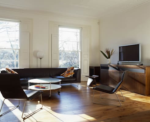 Islington: colonial Living room by Gregory Phillips Architects