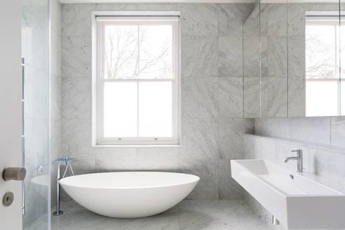 Carlton Hill, London : minimalistic Bathroom by Gregory Phillips Architects