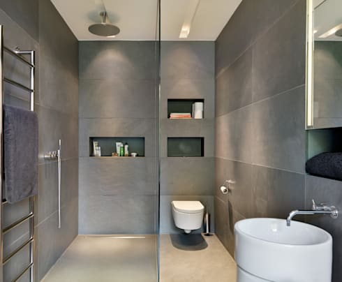 Guildford: modern Bathroom by Gregory Phillips Architects