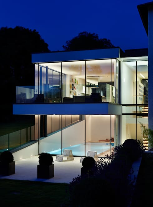 Guildford: modern Houses by Gregory Phillips Architects
