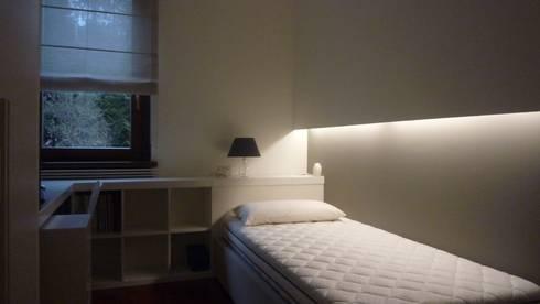 Studiare la casa - Rifare gli interni: Stanza dei bambini in stile in stile Moderno di Giussani Patrizia