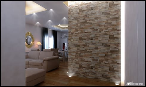 Ingresso_Cappottiera:  in stile  di AG Interior Design
