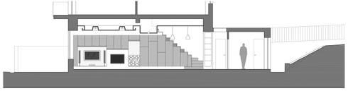 sezione: Soggiorno in stile in stile Moderno di pt architetti