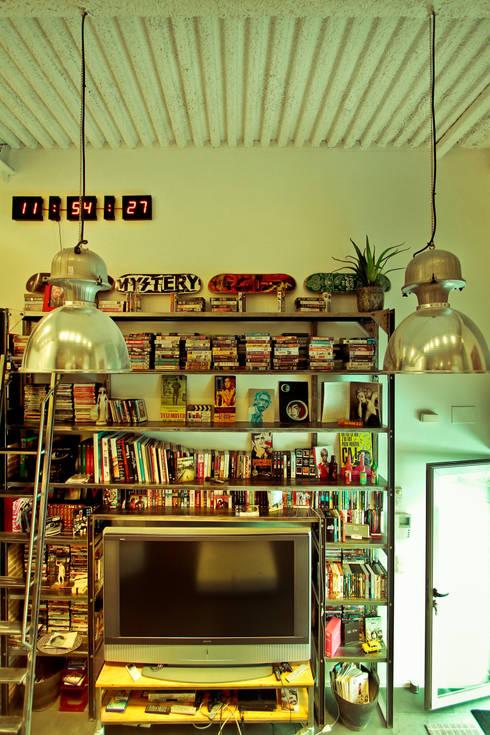 Reforma de un despacho profesional para un actor: Salones de estilo  de Pablo Echávarri Arquitectura