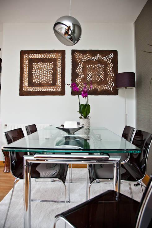 Vivienda en Madrid: Comedores de estilo moderno de www.rocio-olmo.com