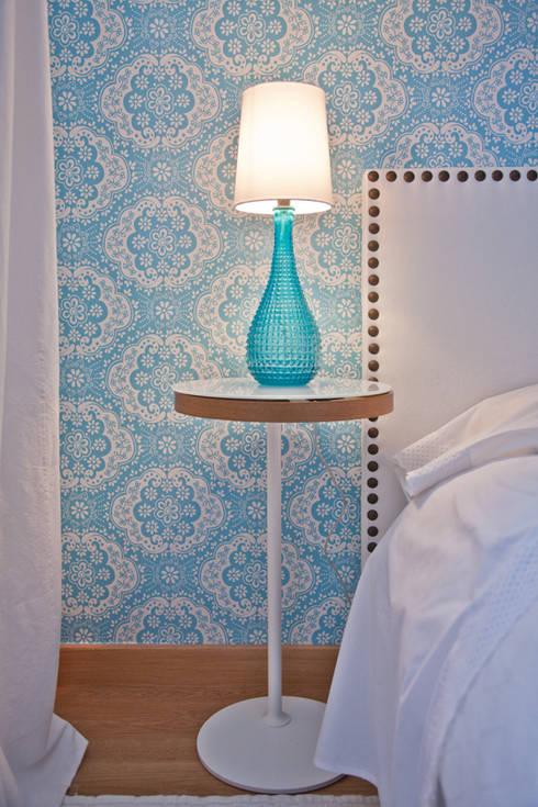 Vivienda en Madrid: Dormitorios de estilo  de www.rocio-olmo.com