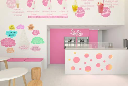 Restaurante de comida rápida: Locales gastronómicos de estilo  de www.rocio-olmo.com