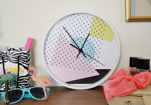 "Reloj ""Arty"": Hogar de estilo  de www.rocio-olmo.com"