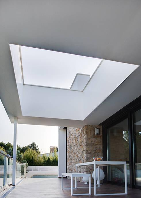 Projekty,  Taras zaprojektowane przez Chiralt Arquitectos