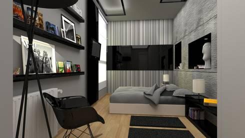 Reforma de Apto.: Dormitorios de estilo moderno de AG INTERIORISMO