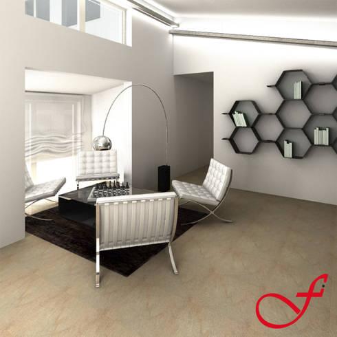 Villa Privata VL: Studio in stile in stile Moderno di Fenice Interiors