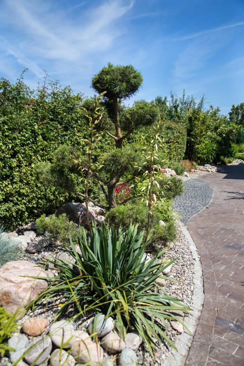 Jardines de piedra de estilo  por Oswald Gärten