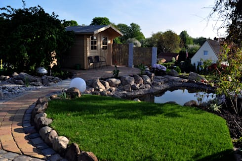 Gartengestaltung Kiel, gartengestaltung by oswald gärten | homify, Design ideen