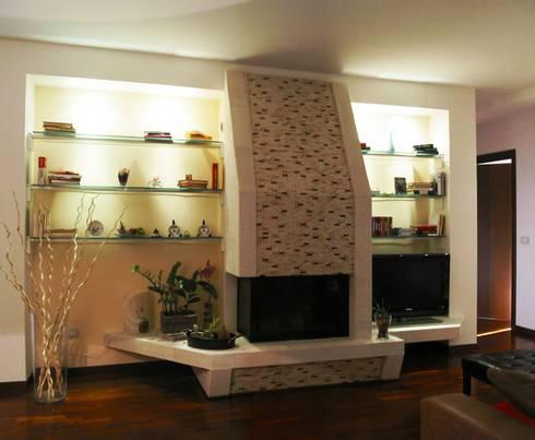 Casa V & N:  in stile  di L.A.B. - Luigi Bottalico Architetto