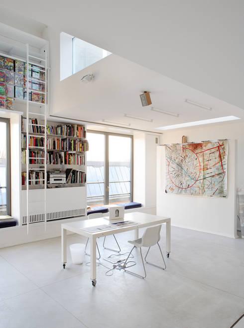 Salones de estilo industrial de roberto murgia architetto
