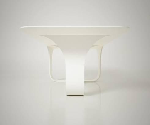 70s: Sala da pranzo in stile in stile Moderno di Arch. Cristian Sporzon