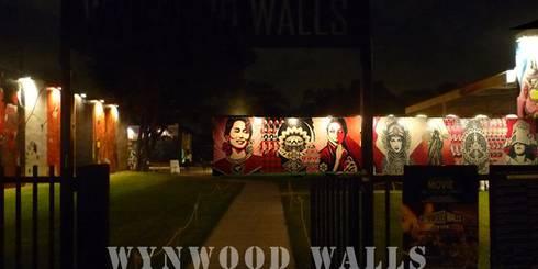 WYNWOOD WALL : Case in stile in stile Industriale di GRUPPOFONARCHITETTI