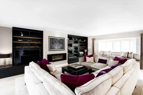 Living Room : modern Living room by Emma Hooton Ltd