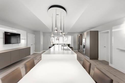 Contemporary Kitchen Space : modern Kitchen by Emma Hooton Ltd