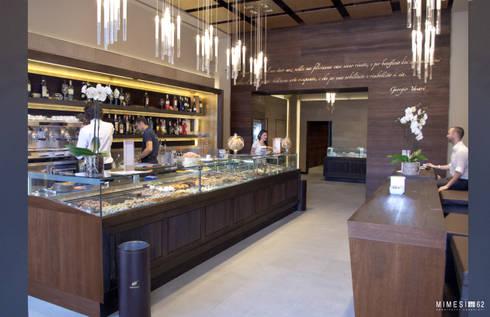 Caffè Finisterrae: Negozi & Locali commerciali in stile  di G. Giusto - A. Maggini - D. Pagnano