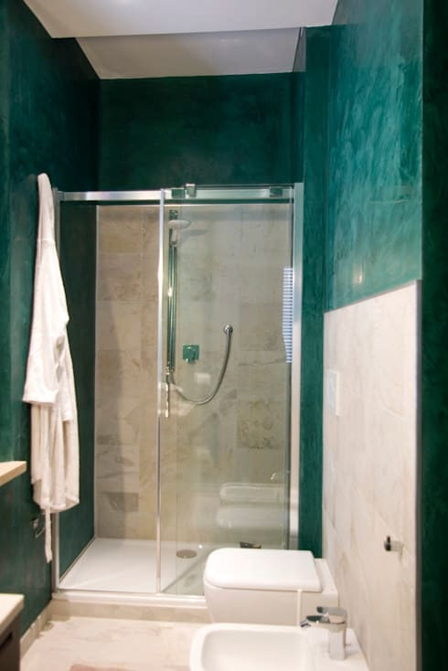 casa MS_SM: Bagno in stile in stile Moderno di msplus architettura