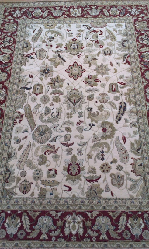 Bolonia: Paredes y suelos de estilo moderno de Carpetfil Alfombras, s.l.
