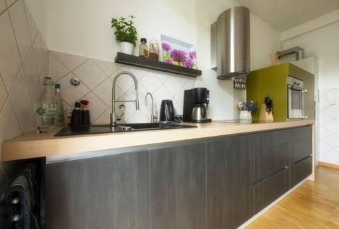 moderne küche im altbau von trÄume - ideen raum geben | homify - Küche Altbau