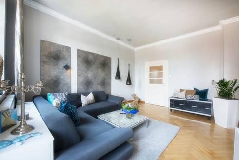 Wohnzimmer In Jugendstil-Wohnung Von Träume - Ideen Raum Geben