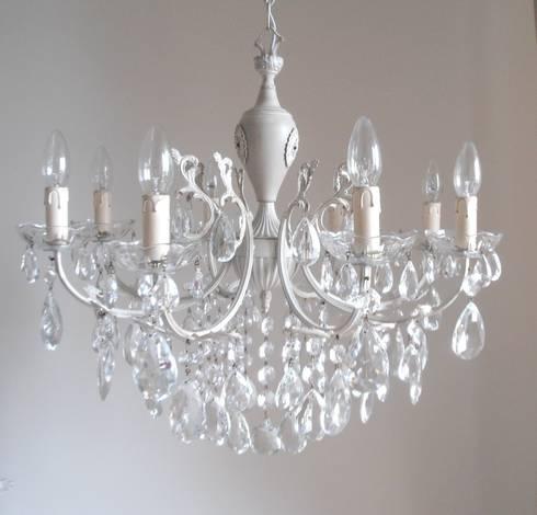 Splendido e unico lampadario milan chic chandeliers 8 for Lampadario shabby chic