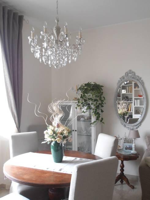 Splendido e unico lampadario milan chic chandeliers 8 for Lampadario stile shabby