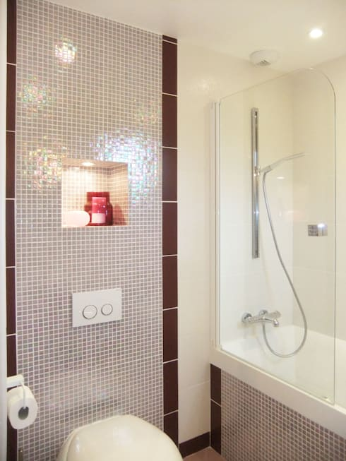 Salle de bain: Salle de bains de style  par HOME feeling