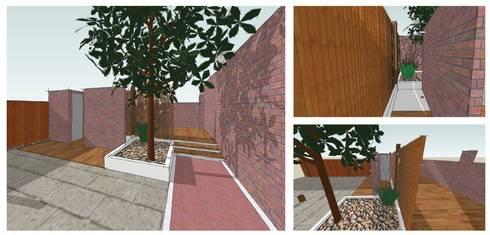 Giardino: Giardino in stile in stile Mediterraneo di CAFElab studio