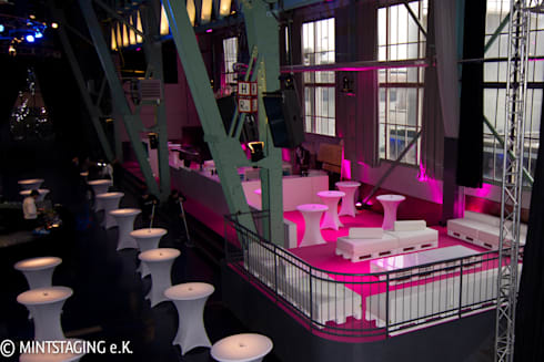 Event im Kesselhaus München:   von MINTSTAGING e.K. Agentur für Interior Design & Raumkonzepte