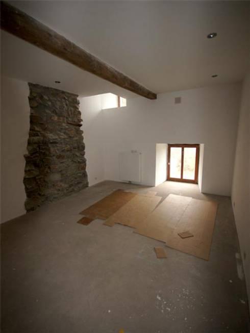 Chambre de style de stile Rural par D. M. Alferink architect