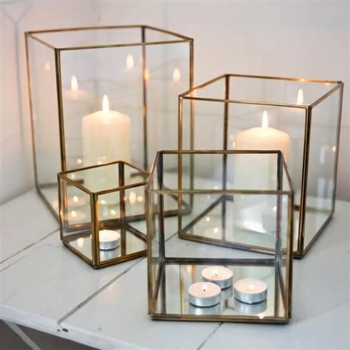 Bimala brass lanterns:  Household by Decorum