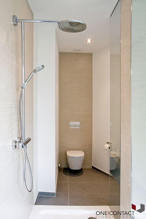 modern Bathroom by ONE!CONTACT - Planungsbüro GmbH
