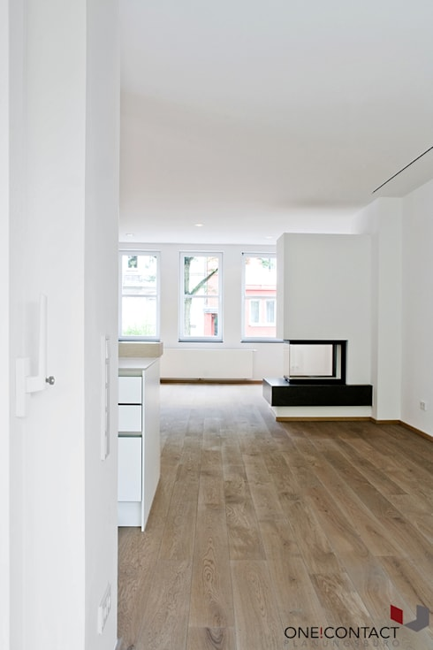 Living room by ONE!CONTACT - Planungsbüro GmbH