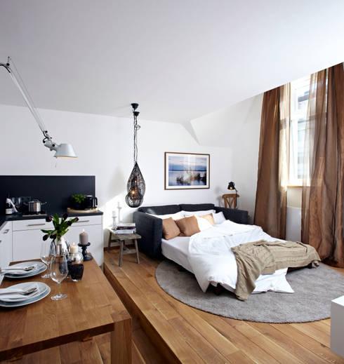 Projekty,  Salon zaprojektowane przez Ute Günther  wachgeküsst