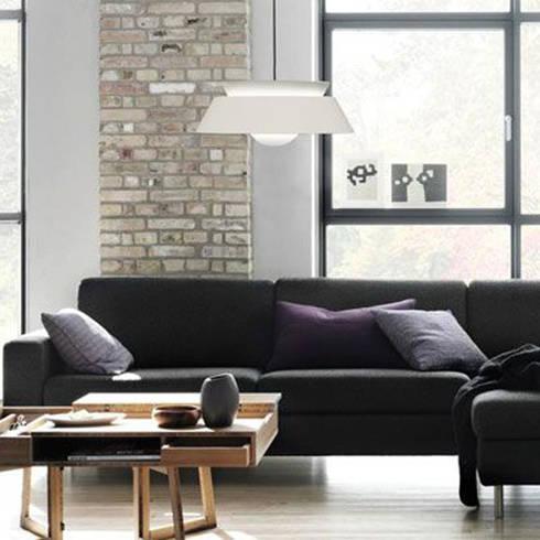 Cuna lamp shade: modern Kitchen by Decorum