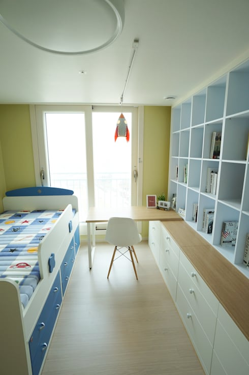 scandinavian Nursery/kid's room by 드리머