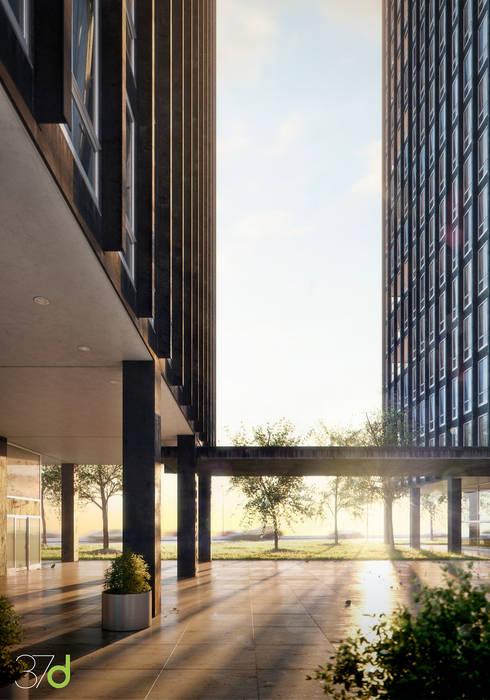 Bürogebäude von 37d Architecture Office