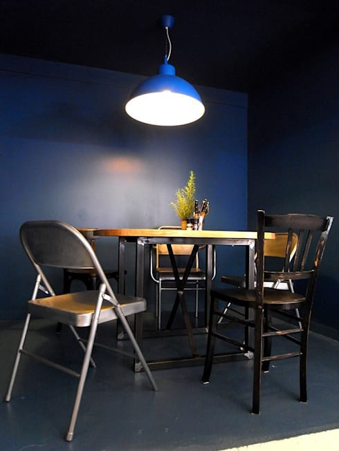 Gastronomy by Allegre + Bonandrini architectes DPLG