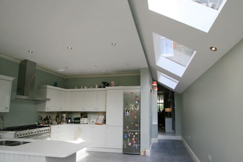 Transformed NW London Terrace : classic Kitchen by Model Projects Ltd
