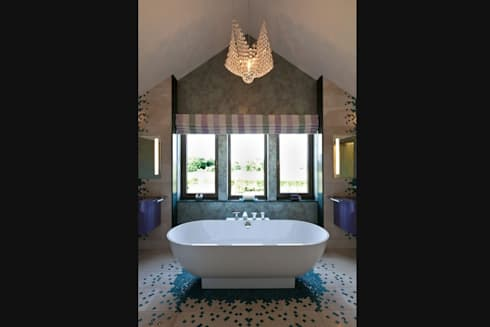 Lancashire Residence: eclectic Bathroom by Kettle Design
