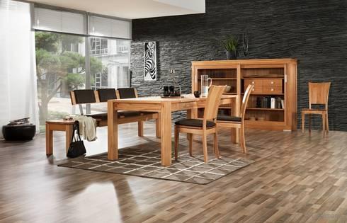LIGNUM Möbelmanufaktur: Esszimmer / Tische | homify | {Moderne massivholzküchen 26}